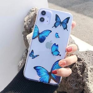 Blue Butterfly iPhone 11 Case